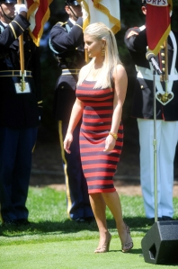Jessica Simpson ATT National Golf Tournament in MD