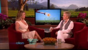 jessica simpson on ellen huge cleavage