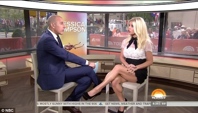 jessica simpson today show